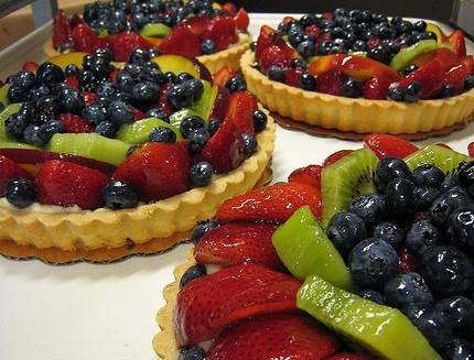 fruit market fruit tart